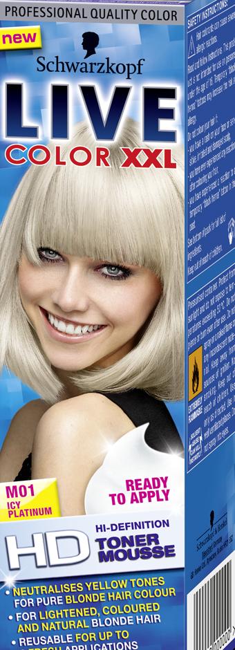 LIVE Toner Icy Platinum M01