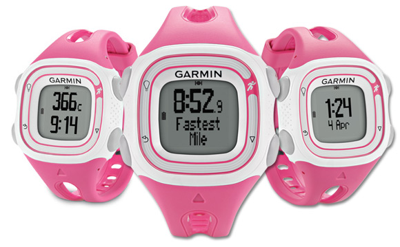 Garmin-Forerunner-10-Pink-Ladies-Womens-Running-Watch