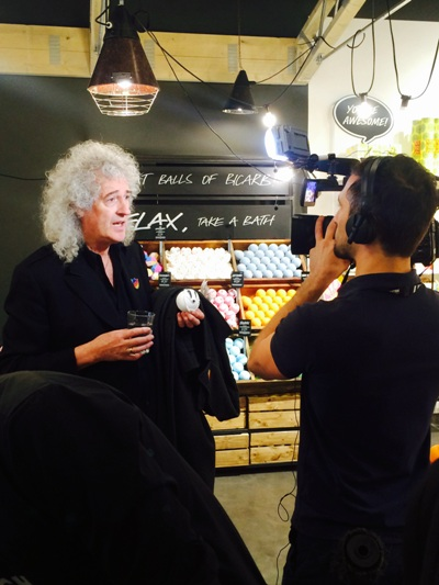 brian may films at launch