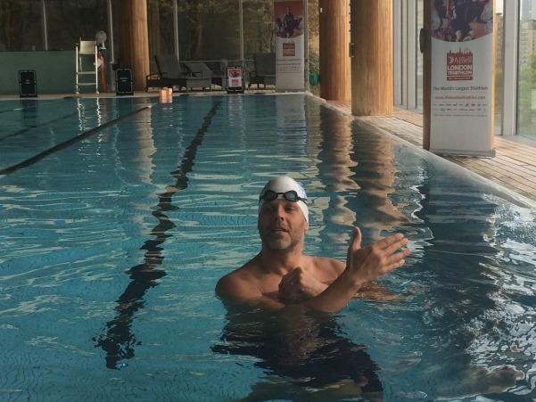 AJ Bell London Triathlon - Triathlon Thursday Swim (38)