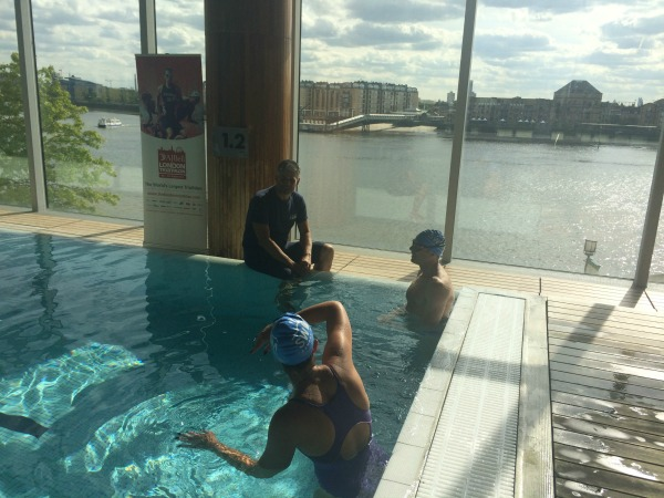 AJ Bell London Triathlon - Triathlon Thursday Swim (47)