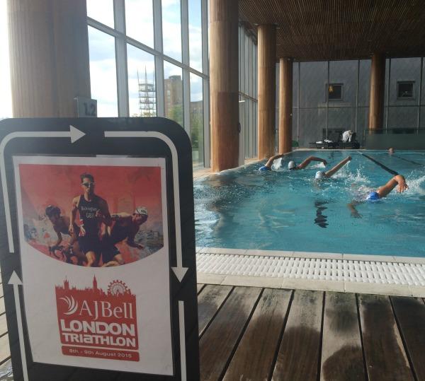 AJ Bell London Triathlon - Triathlon Thursday Swim (52)