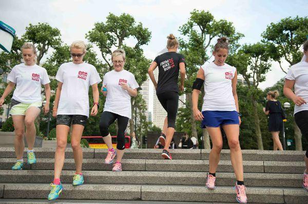 running-steps